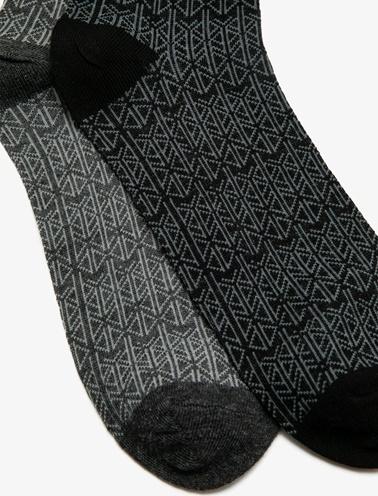 Koton 2'li Çorap Siyah